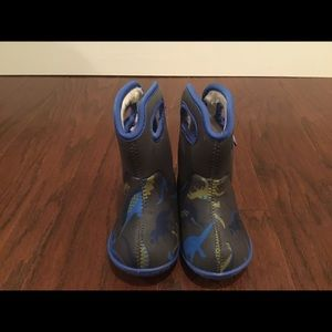 Baby Bogs dinosaur waterproof fleece lined boots 6